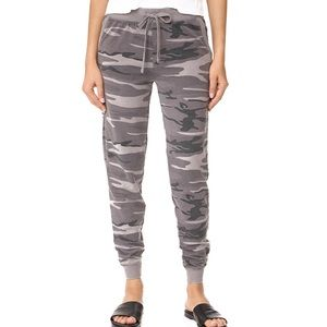 Gray Camo Sweatpants Joggers Leisure S M L